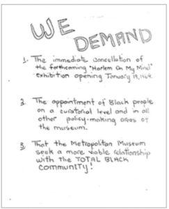 We Demand (1969)