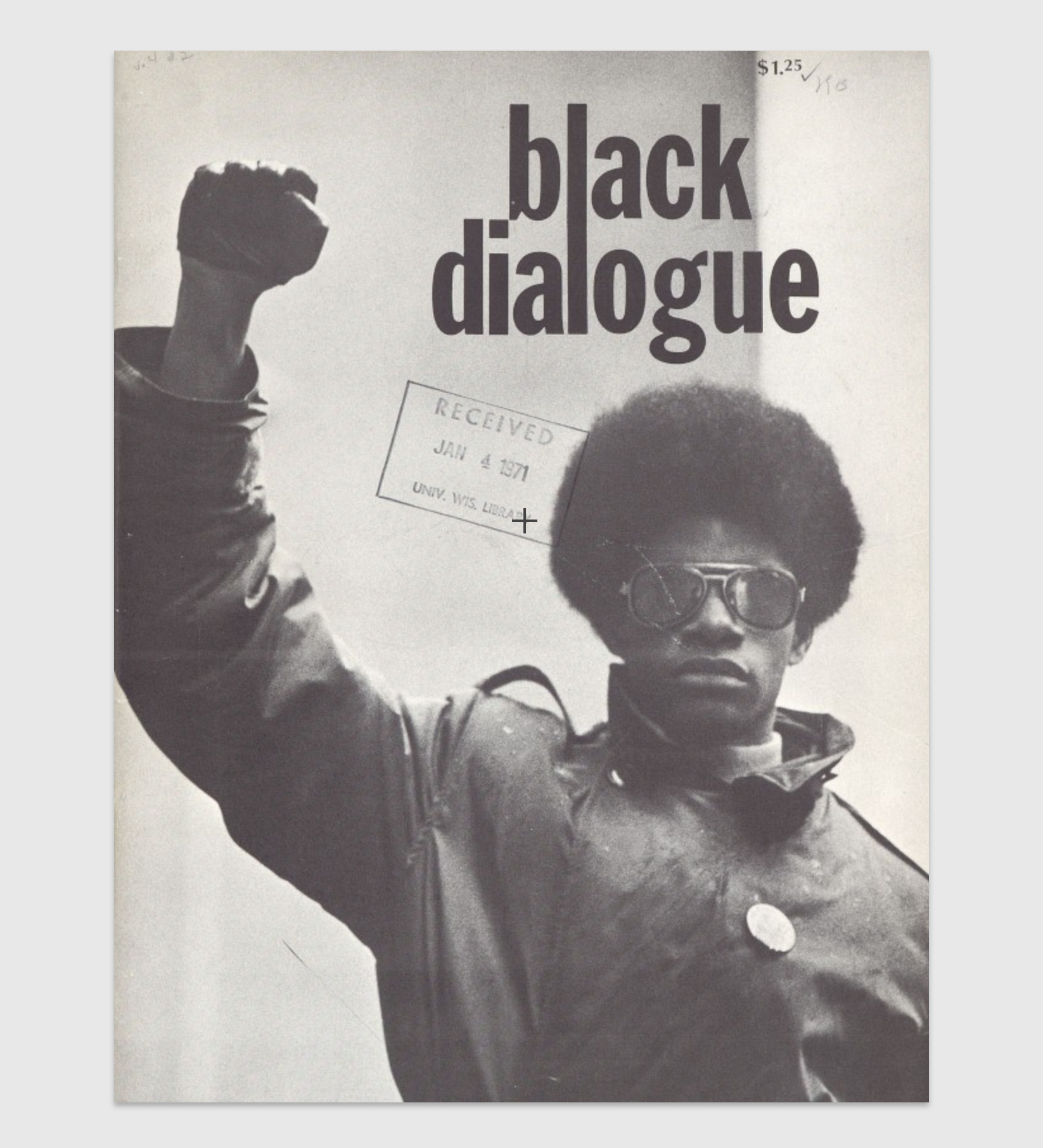 The cover of Black Dialogue Vol.4 No.2 Summer 1970