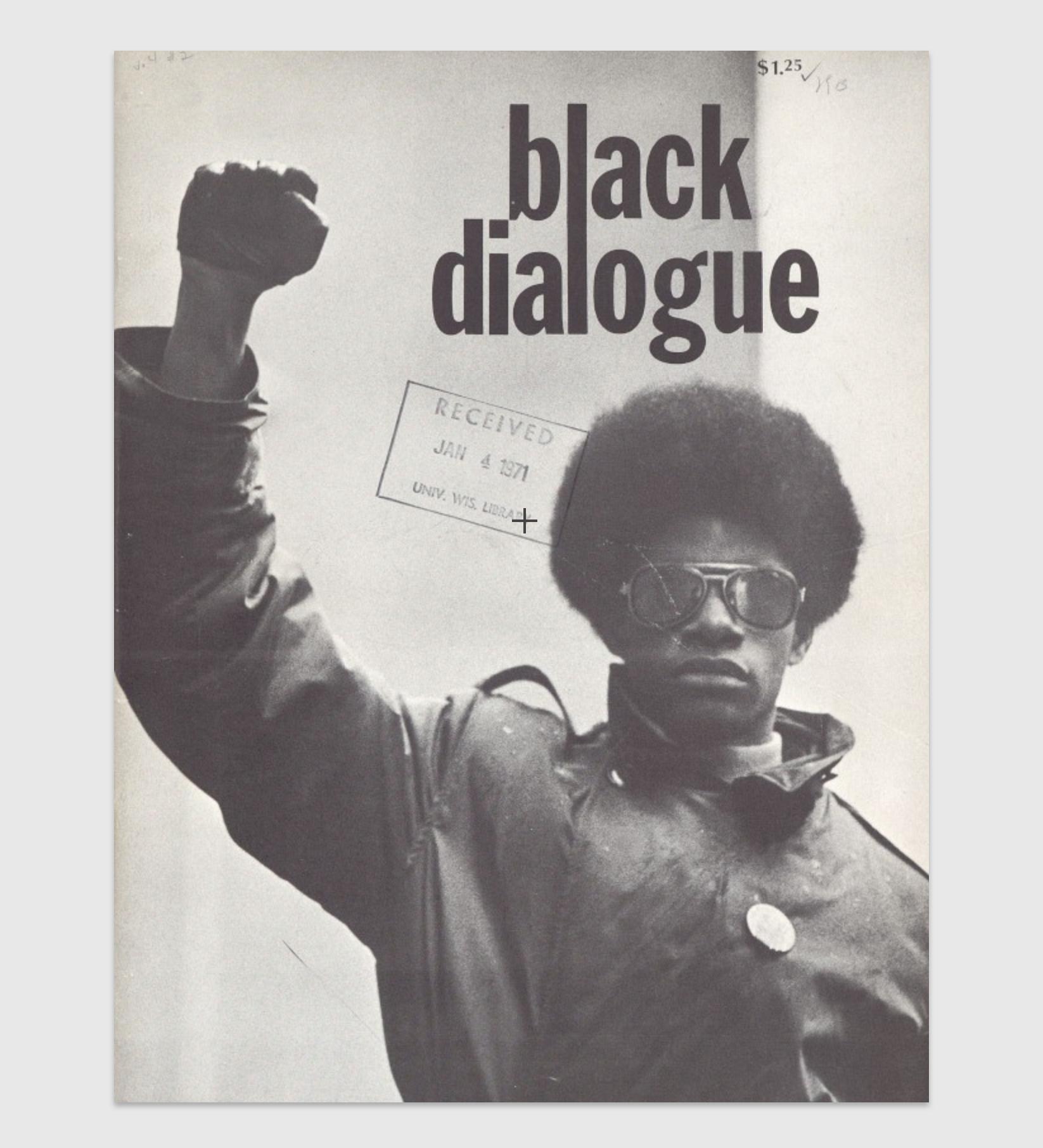 Black Dialogue Vol.4 No.2; Summer 1969